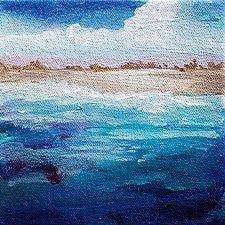 Nice Memories by Karen  Hale (Acrylic Painting)
