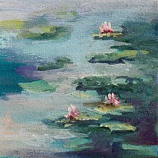 Quiet Life by Karen  Hale (Acrylic Painting)