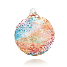 Spun Sugar by Mariel Waddell and Alexi Hunter (Art Glass Ornament)