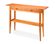 Leopard Wood Hall Table by Tom Dumke (Wood Side Table)