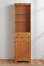 Curio Cupboard by Tom Dumke (Wood Cabinet)