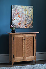 Cherry Side Cabinet by Tom Dumke (Wood Cabinet)
