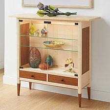 Maple Display Case by Tom Dumke (Wood Cabinet)