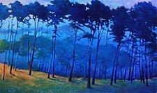 Blue Progression by Ken Elliott (Giclee Print)