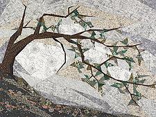 Krummholz by Linda Beach (Fiber Wall Hanging)