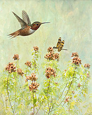 Humming Along by Melinda Moore (Color Photograph)