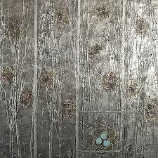 The Garden's Secret by Vinnie Sutherland (Metal Wall Sculpture)
