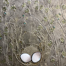 Small Nest Trio 2 by Vinnie Sutherland (Metal Wall Sculpture)