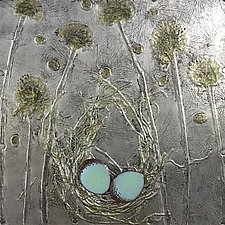 A Quiet Moment by Vinnie Sutherland (Metal Wall Sculpture)