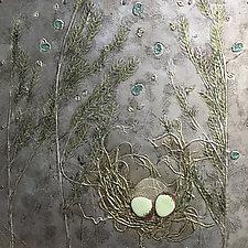 Light Breeze Through Grass by Vinnie Sutherland (Metal Wall Sculpture)