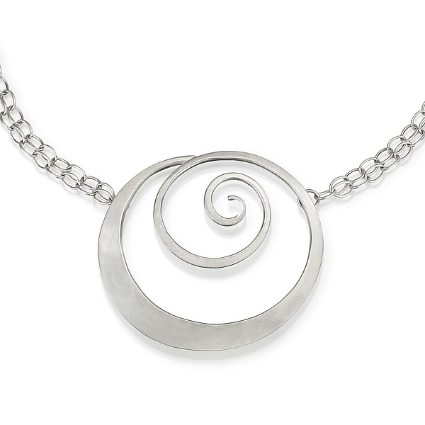 Bold Spiral Necklace