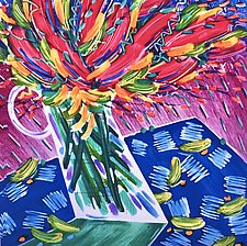 Floral Fling by Penny Feder (Giclee Print)