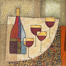Four Goblets by Penny Feder (Giclee Print)