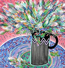 Floral Flush by Penny Feder (Giclee Print)