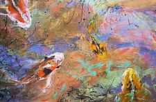 Four Koi by Penny Feder (Giclee Print)