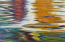 Tantalizing Swirl by Jan Fordyce (Oil Painting)