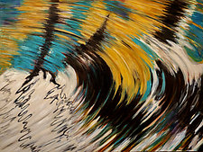 Moving Spiral by Jan Fordyce (Oil Painting)