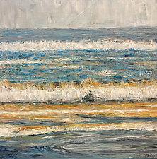 Ocean Breeze II by Jan Fordyce (Oil Painting)