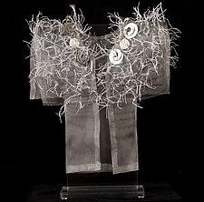 Winter Kimono II by Susan McGehee (Metal Sculpture)