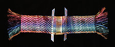 Spectrum Twill by Susan McGehee (Metal Wall Sculpture)