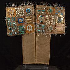 Piece de Resistor Kimono by Susan McGehee (Metal Sculpture)