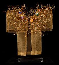 Antiqua II Kimono by Susan McGehee (Metal Sculpture)