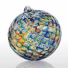 Masquerade by Gina Lunn (Art Glass Ornament)