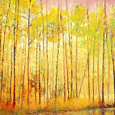 Yellow Curtain by Ken Elliott (Giclée Print)