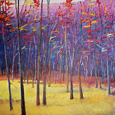 At the Meadow's Edge by Ken Elliott (Oil Painting)