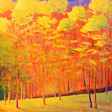 Loud Autumn I by Ken Elliott (Oil Painting)