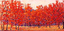 Red Encounter by Ken Elliott (Giclee Print)