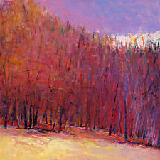 Edge of the Woods, Autumn by Ken Elliott (Giclee Print)
