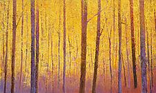 Yellow Wall by Ken Elliott (Giclee Print)