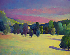 Radiant Landscape by Ken Elliott (Oil Painting)