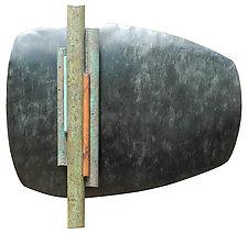 Wallpiece RCB 18.02 by David M Bowman and Reed C Bowman (Metal Wall Sculpture)