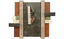 Wallpiece 10.13 by David M Bowman and Reed C Bowman (Metal Wall Sculpture)