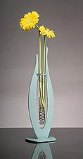 Rain Drop Vase and Candleholder by Ken Girardini and Julie Girardini (Metal Vase)