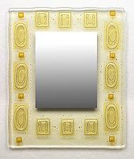 Subtle Relationships by Richard Altman (Art Glass Mirror)