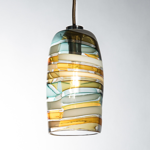 Licorice Stick Barrel Pendant