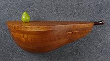 Pooh Bear Pear Shelf by Mark Levin (Wood Shelf)