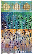 High Country Color No.2 by Michele Hardy (Fiber Wall Hanging)