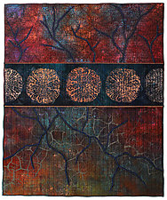 Surfaces No. 8 by Michele Hardy (Fiber Wall Hanging)
