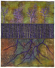 Surfaces No. 23 by Michele Hardy (Fiber Wall Hanging)