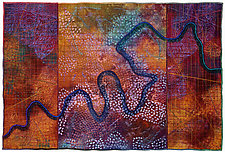 Mapforms No.5 by Michele Hardy (Fiber Wall Hanging)