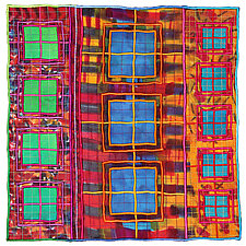 Windows No.25 by Michele Hardy (Fiber Wall Hanging)