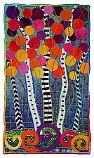 High-Country Color No.4 by Michele Hardy (Fiber Wall Hanging)