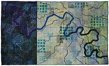 Mapforms No. 7 by Michele Hardy (Fiber Wall Hanging)