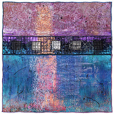 Surfaces No.14 by Michele Hardy (Fiber Wall Hanging)