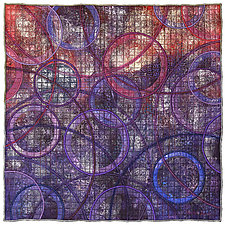 Geoforms: Porosity No. 19 by Michele Hardy (Fiber Wall Hanging)