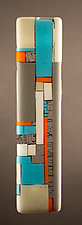 Retro by Vicky Kokolski and Meg Branzetti (Art Glass Wall Sculpture)